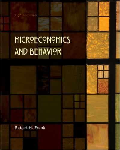 Solutions for Microeconomics and Behavior, 8th Edition