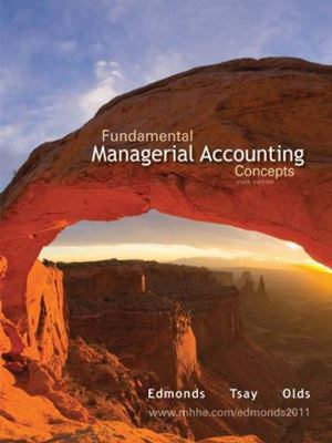 Fundamental Managerial Accounting Concepts Guide