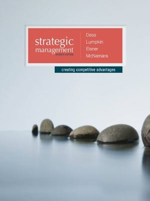 Solutions for Strategic Management: Creating Competitive Advantages, 7th Edition