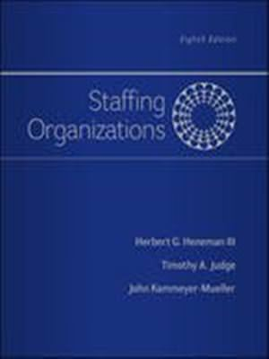 Solutions for Staffing Organizations, 8th Edition