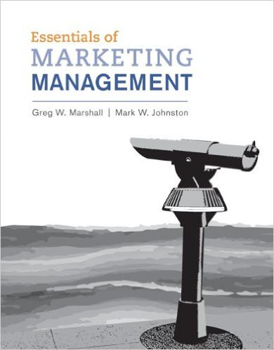 Essentials of Marketing Management, 1st Edition Solutions