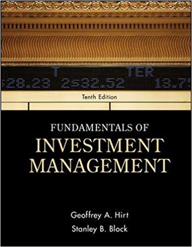 Fundamentals of Investment Management, 10th Edition Solutions