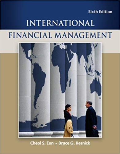 Solutions for International Financial Management, 6th Edition