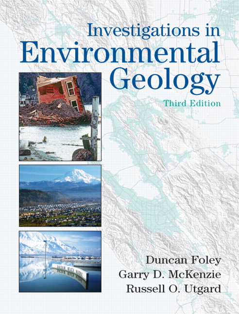Solutions for Investigations in Environmental Geology, 3rd Edition