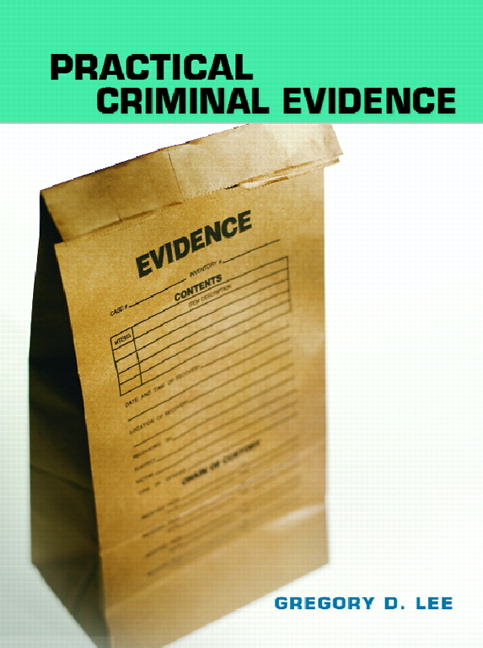Practical Criminal Evidence Guide