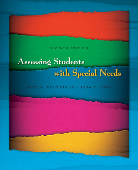 Assessing Students with Special Needs Guide