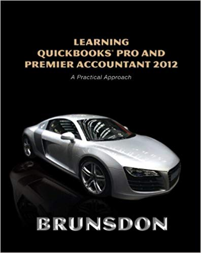 Learning QuickBooks Pro and Premier Accountant 2012 Guide