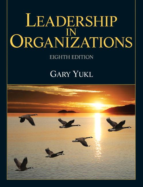 Leadership in Organizations Guide