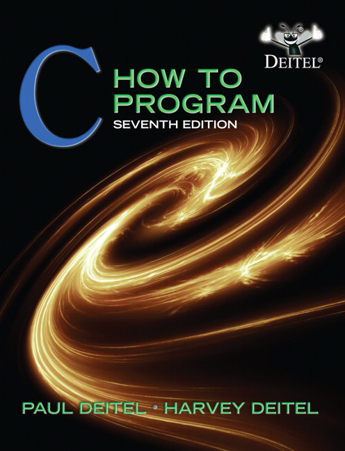 Solutions for C How to Program, 7th Edition