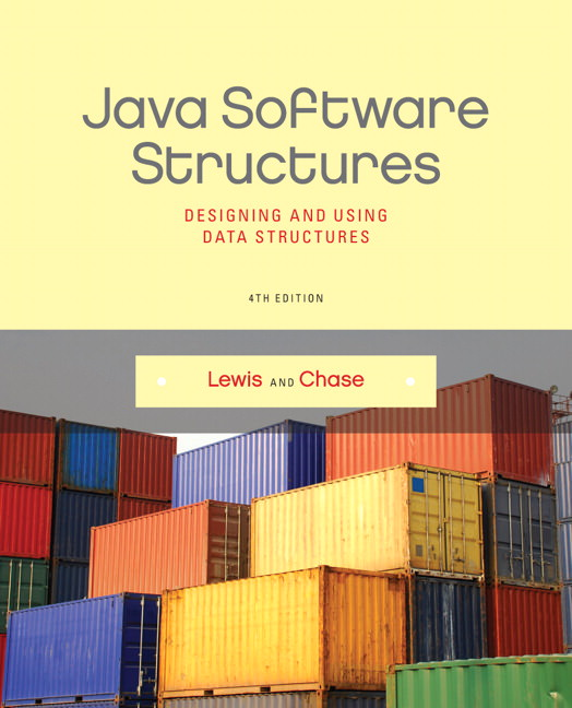 Java Software Structures: Designing and Using Data Structures Guide