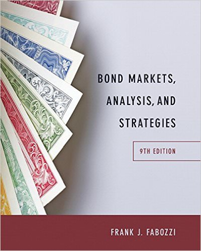 Solutions for Bond Markets, Analysis, and Strategies, 9th Edition