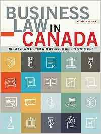 Solutions for Business Law in Canada, 11th Edition