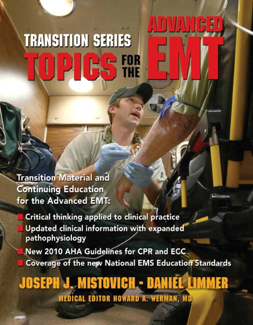 Transition Series: Topics for the Advanced EMT Guide