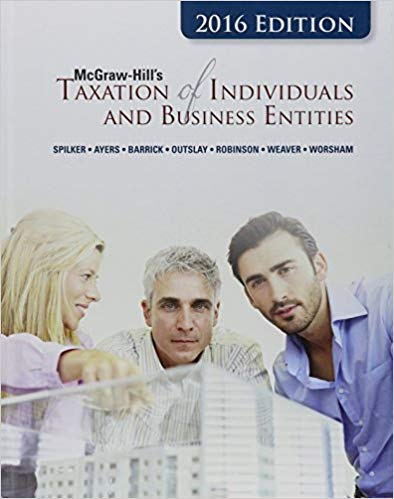 Solutions for McGraw-Hill's Taxation of Individuals and Business Entities, 7th Edition