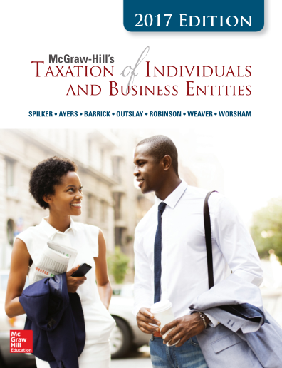 Solutions for McGraw-Hill's Taxation of Individuals and Business Entities, 8th Edition