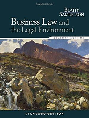 Solutions for Business Law and the Legal Environment, 7th Edition