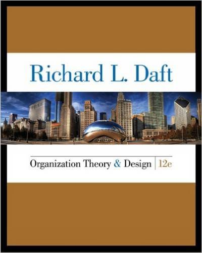 Organization Theory and Design Guide