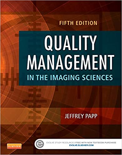Quality Management In The Imaging Sciences Guide