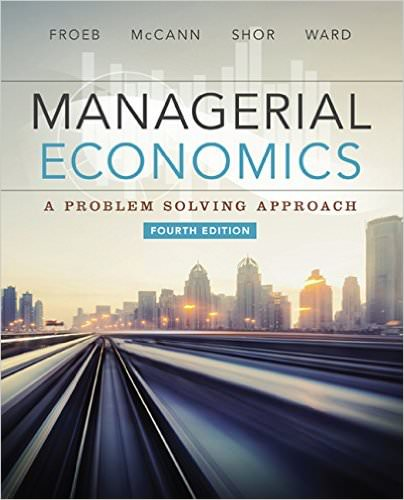 Managerial Economics, 4th Edition Solutions