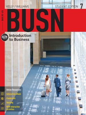 BUSN 7, 7th Edition Solutions