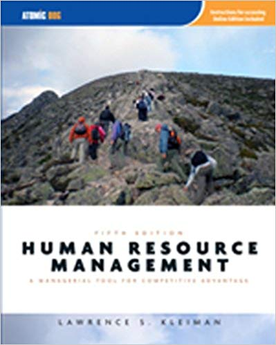 Human Resource Management: Managerial Tool for Competitive Advantage, 5th Edition Solutions