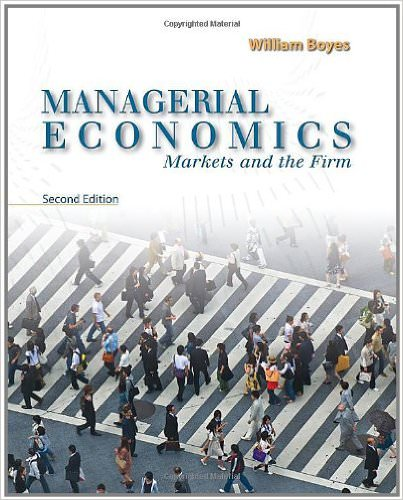Managerial Economics Book Only, 2nd Edition