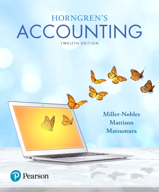 Horngren's Accounting Guide