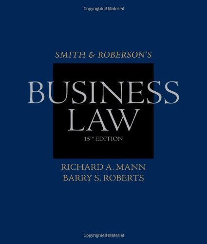 Smith and Roberson's Business Law Guide