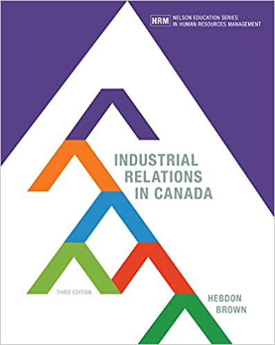 Industrial Relations In Canada Guide