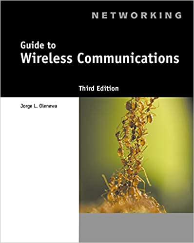 Guide To Wireless Communications Guide