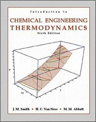 Introduction to Chemical Engineering Thermodynamics Guide