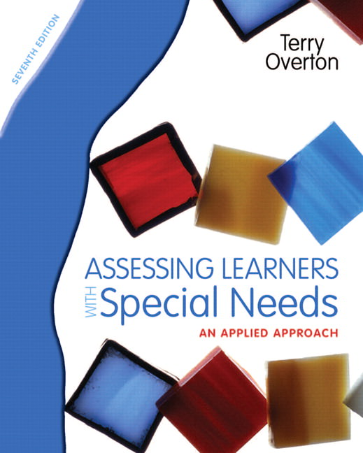 Assessing Learners with Special Needs: An Applied Approach Guide