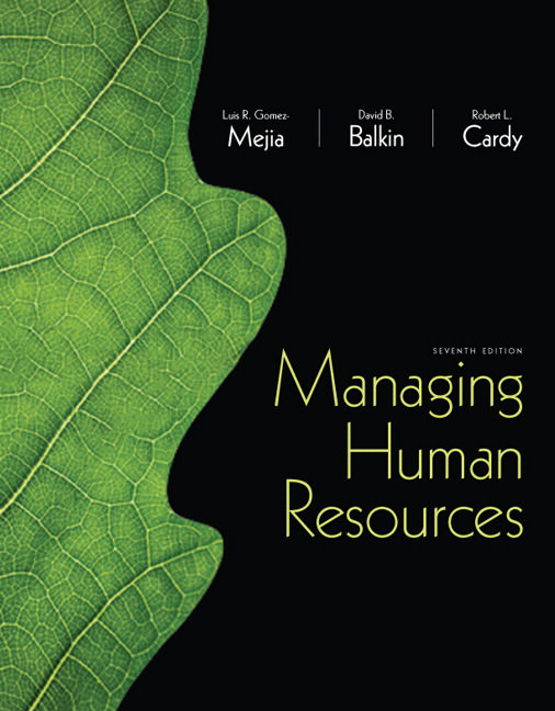 Solutions for Managing Human Resources, 7th Edition