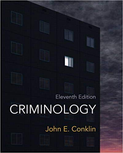 Criminology: A Sociological Understanding Plus MyCrimeKit Guide