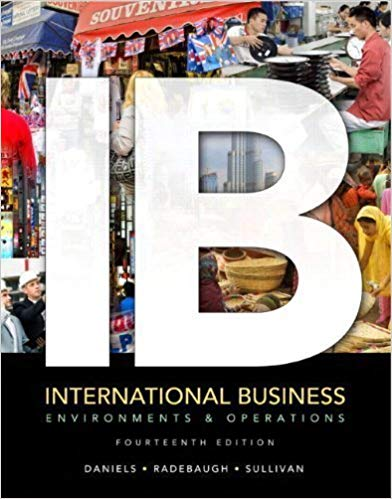 International Business: Environments and Operations  Guide