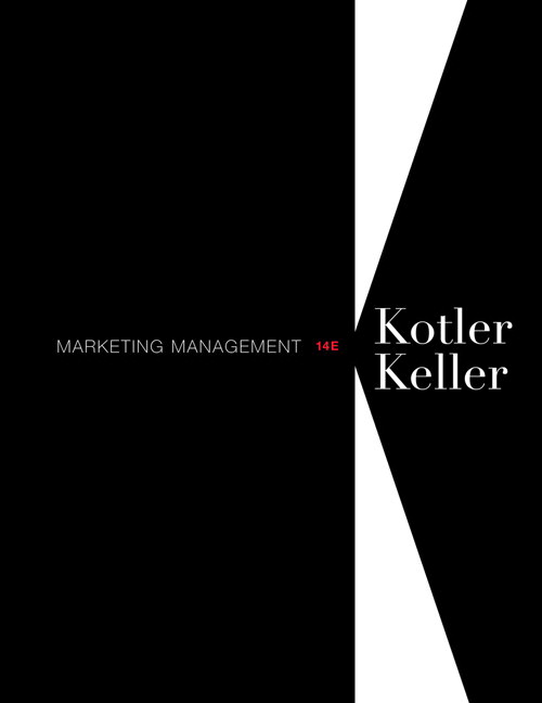 Marketing Management, 14th Edition Solutions