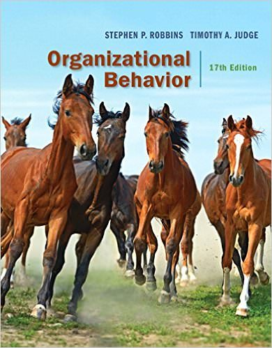 Solutions for Organizational Behavior, 17th Edition