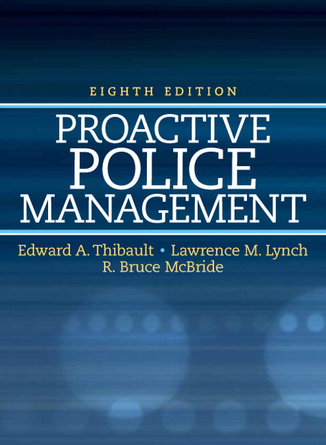 Proactive Police Management Guide