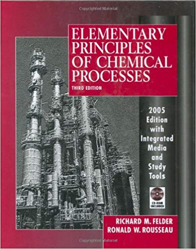 Elementary Principles of Chemical Processes Guide