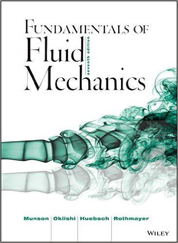 Fundamentals of Fluid Mechanics, 7th Edition Solutions