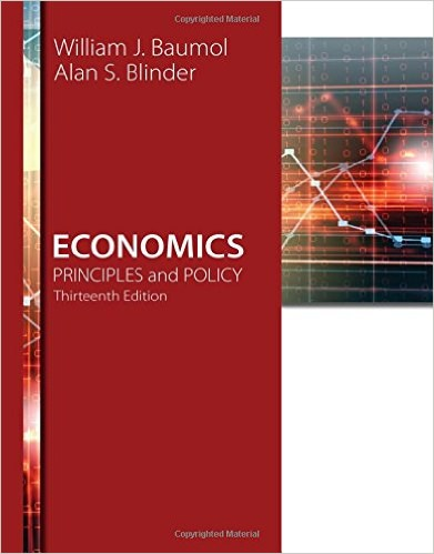 Economics: Principles and Policy, 13th Edition Solutions