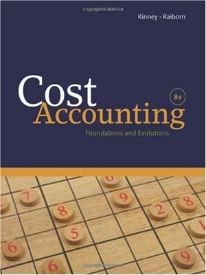 Cost Accounting: Foundations and Evolutions Guide